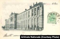 Gara Iași, cca 1901.