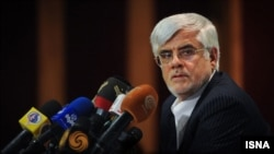 Иран президенті сайлауына түсуден бас тартқан кандидат, бұрынғы вице-президент Мохаммед Реза Ареф.