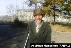 Оргыбек Касымжанулы, житель села Койлык. 29 ноября 2013 года.