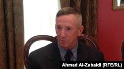 لفتنانت جنرال ميك بدنارك مدير مكتب التعاون الامني في السفارة الاميركية ببغداد