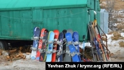 Аренда сноубордов, лыж и других средств для передвижения по снегу