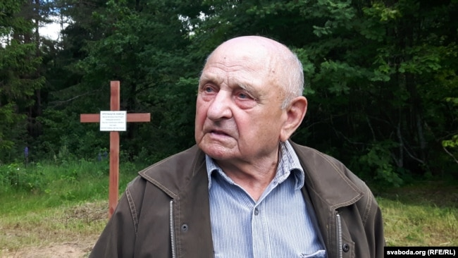 89-гадовы Дзьмітрый Ганчароў, сьведка трагедыі