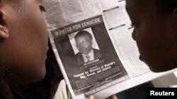 Газета с объявлением о розыске Фелисьена Кабуги. Найроби, 12 июня 2002
