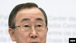 Позицию «квартета» в Лондоне озвучил Пан Ги Мун