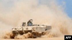 اسرائیل هدف عملیات خود را مقابله با موشک پرانی نیروهای شبه نظامی در نوار غزه اعلام کرده است.(عکس: AFP)