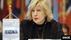 Дунья Миятович, Еуропадағы қауіпсіздік және ынтымақтастық ұйымының (ЕҚЫҰ) баспасөз бостандығы мәселелері жөніндегі өкілі
