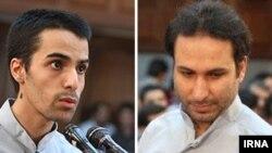 آرش رحمانیپور و محمدرضا علیزمانی