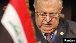 جلال طالبانی٬ رئیسجمهوری عراق