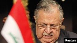 رئيس الجمهورية جلال طالباني