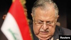رئيس الجمهورية العراقي جلال طالباني