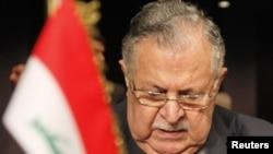 İraq prezidenti Jalal Talabani