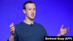 Facebook CEO Mark Zuckerberg (file photo)