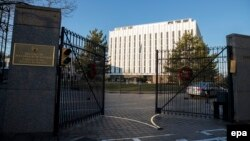 The Russian Embassy in Washington, D.C. (file photo)