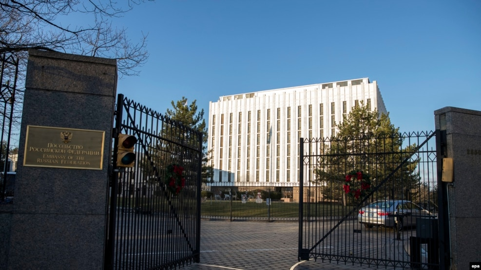 The Russian Embassy in Washington, D.C.