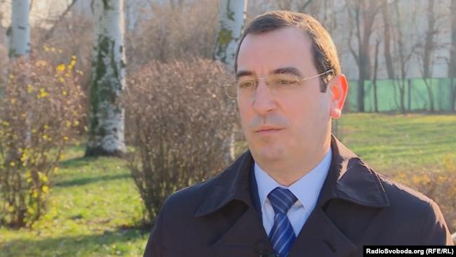 Вадим Скибицкий, представитель Главного управления разведки МО Украины