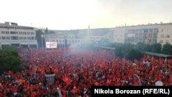 Протести против новата Владина коалиција во Црна Гора