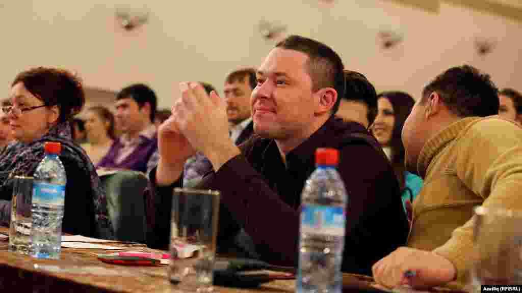 Даими жюри әгъзасы - Әмирхан Курбанов (Шәкүр)