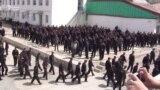 Саҳни дохилии яке аз маҳбасҳои Тоҷикистон