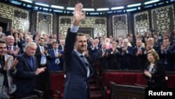 Башар аль-Асад у сирійському парламенті, 7 червня 2016 року
