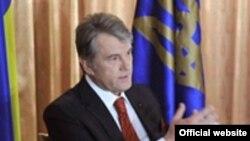 Віктор Ющенко під час візиту до Нью-Йорка