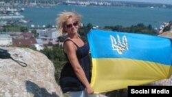 Наталя Ващенко в Криму, 2015 рік, фото з соціальних мереж