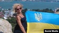 Наталья Ващенко в Крыму, 2015 год, фото из социальных сетей