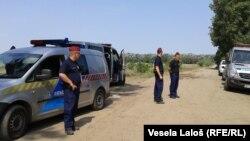 Mađarska policija na mađarsko-srpskoj granici, arhivska fotografija