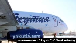 "Самолёт авиакомпании ""Якутия"""