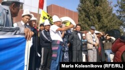 Митинг в Саруу, 28 октября