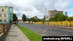 Вуліца Караткеіча ў Воршы, архіўнае фота