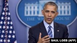 АҚШ президенті Барак Обама. Вашингтон, 16 желтоқсан 2016 жыл.
