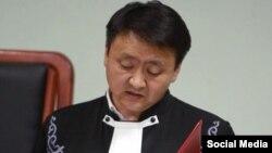 Kyrgyzstan. judge. Aibek Ernis uulu. sentence. August 16, 2017