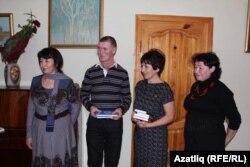 Әлфия Ситдыйкова (с), Фәннур Гайсаров, Вәсилә Шәрәфетдинова һәм Зифа Кадырова