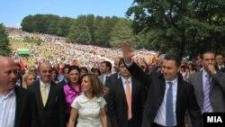 Премиерот Груевски вчера од Крушево повика на обединување и надминувањена политичките разлики