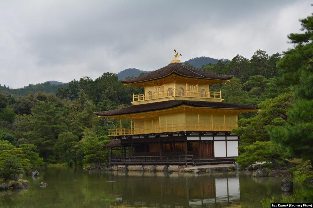Золотой павильон «Кинкаку-ди»