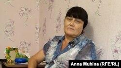 Людмила Антошкина, вдова