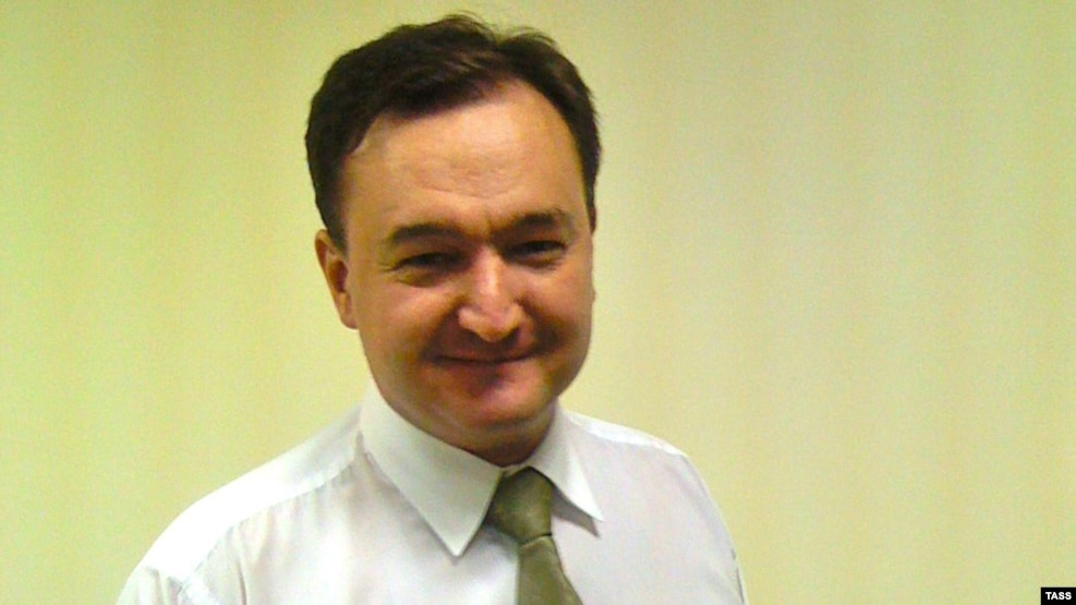Lawyer Sergei Magnitsky died in Russian pretrial detention in 2009 after helping uncover evidence of massive tax fraud (file photo).