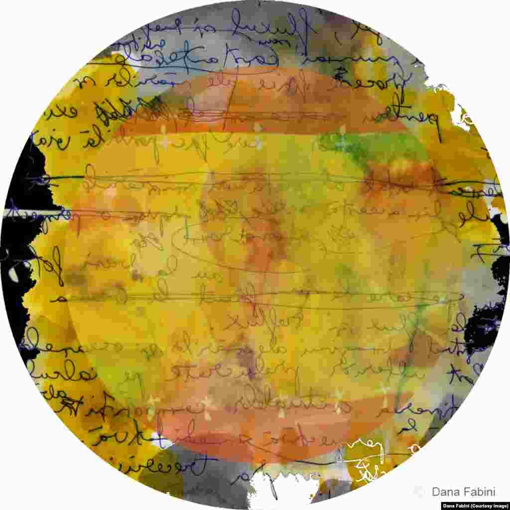 Briefe mit Träumen (Scrisori cu vise), digital print, 2015.