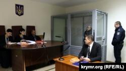 Олександр Саттаров в Голосіївському суді Києва, 5 листопада 2018 року
