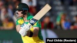 یکی از بازیکنان تیم ملی کریکت آسترلیا Source: Paul Childs (Reuters)