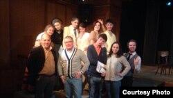 Герман Князев с актерами
