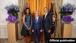 Фотография – пресс-служба президента Армении
