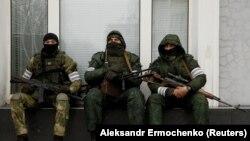Luqanskın mərkəzində silahlılar, 22 noyabr, 2017-ci il