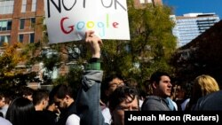 Protest radnika Googla