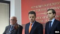 Работна средба на министрите Зоран Ставревски и Диме Спасов со претставниците на пензионерите