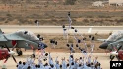 Hatzerim Israeli Air Force base in the Negev desert, near the southern Israeli city of Beer Sheva. File photo