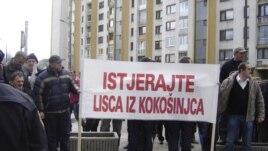 Protest poljoprivrednika 14. januar 2013.