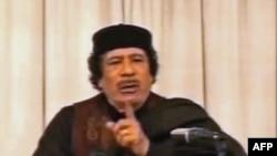 """Муамар Кадафі абвінавачвае """"Аль-Каіду"""" ў дэстабілізацыі Лібіі"""
