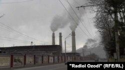 Корхонаи сементи Душанбе