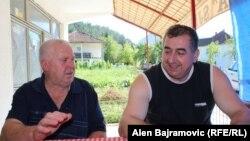 Emin Bećović i Vujadin Radović